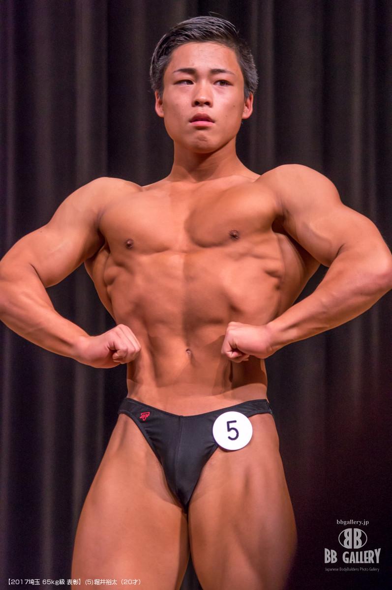 【2017埼玉 65kg級 表彰】(5)堀井裕太(20才)