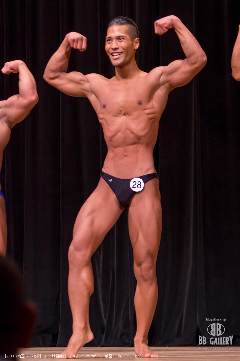 【2017埼玉 70kg級】(28)城間皓亮(24才/175cm/-/ボ歴:1年/BIGFIVE)
