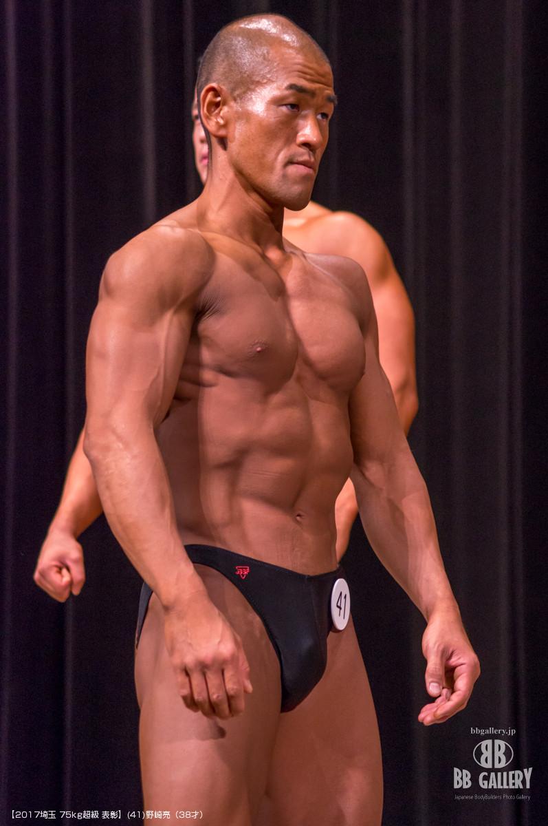 【2017埼玉 75kg超級 表彰】(41)野崎亮(38才)