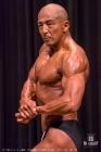 【2017埼玉 オーバーオール審査】《75kg級優勝》(31)葉波潤一郎(52才/172cm/72kg/ボ歴:1年)