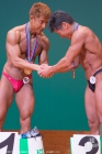 【2016関東クラス別 65kg級表彰】(46)土金正巳(47才)、(26)後藤充(48才)