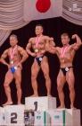 【2016日本マスターズ50才70kg超-表彰】(37)角田信朗(55才)、(36)林勇宇(55才)、(33)猿山直史(52才)