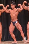 【2018関東 男子】(117)吉岡賢輝(25才/164cm/65kg/ボ歴:3年/神奈川:横浜マリントレーニングジム)