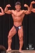 【2018関東 男子】(126)兜森剛(46才/166cm/73kg/ボ歴:20年/神奈川:横浜マリントレーニングジム)