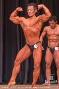 【2018関東 男子】(129)松本美彦(49才/167cm/73kg/ボ歴:16年/東京:ゴールドジムウエスト東京)