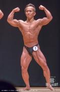 【2018東京オープン 60kg】(1)牧野仁史(35才/158cm/58kg/ボ歴:7年)