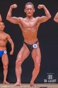 【2018東京オープン 60kg】(4)松浦武彦(54才/162cm/60kg/ボ歴:1年)