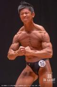 【2018東京オープン 65Kg 決勝FP】(19)福永武司(34才/171cm/63kg/ボ歴:11年)