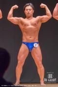 【2018東京オープン 70Kg】(2)村上成史(40才/163cm/69kg/ボ歴:1年)