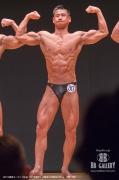 【2018東京オープン 70Kg】(30)猪瀬彰久(33才/176cm/70kg/ボ歴:3年)