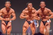 【2018東京オープン 70Kg 表彰】(8)菅原直人(39才)、(5)野口将汰(22才)、(1)花島淳(42才)