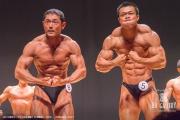 【2018東京オープン 70Kg 表彰】(8)菅原直人(39才)、(5)野口将汰(22才)