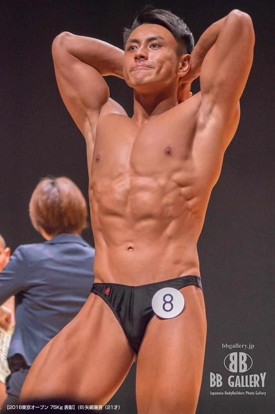 【2018東京オープン 75Kg 表彰】(8)矢嶋兼吾(21才)
