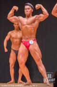 【2018東京オープン 75Kg超】(2)清水隆太郎(24才/170cm/75kg/ボ歴:1年)