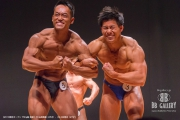 【2018東京オープン 75Kg超 表彰】(5)山﨑貴義(25才)、(3)小林寛治(27才)