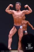 【2018東京オープン 40才】(3)越田専太郎(43才/170cm/64kg/ボ歴:3年)