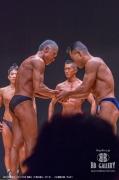 【2018東京オープン 50才 表彰】(7)野口直人(51才)、(3)海野文昭(54才)