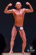 【2018東京オープン 60才】(1)下斗米義藏(68才/157cm/54kg/ボ歴:4年)
