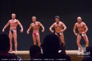 【2018東京オープン 60才 表彰】(8)ストラウド・ポール(62才)、(4)清田良輝(62才)、(3)鈴木桂一郎(66才)、(1)下斗米義藏(68才)