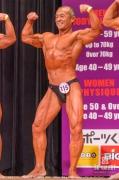 【2019日本マスターズ 50才】(115)近藤賢司(55才/166cm/69kg/東京:トレーニングセンターサンプレイ)