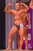 【2019日本マスターズ 60才】(71)浦本真明(63才/159cm/59kg/兵庫:アメリカンヘルスクラブ)