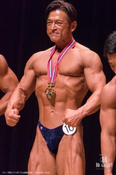 【2017東京クラス別 75kg超級 表彰】(16)外村修(44才)