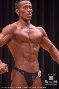 【2015東日本 オーバーオール】75kg級優勝:(51)寺地進一(39才/166cm/ボ歴:24年/東京都)