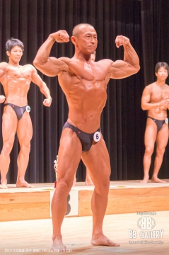 【2015北海道 男子 表彰】(8)小玉則雄(51才)