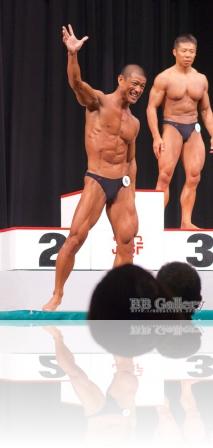 【2013日本マスターズ:男子40才70kg】(6)仲泊兼也(40才)