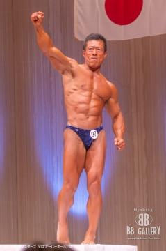 【2018日本マスターズ 50才オーバーオール】オーバーオール優勝:(97)玉井正宏(53才)