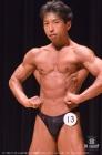 【2017東京クラス別 60kg級 予選FP】(13)髙橋勝己(46才/165cm/60kg/ボ歴:14年/ゴールドジムウェスト東京)