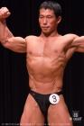 【2017東京クラス別 70kg級 予選FP】(3)花島淳(41才/163cm/70kg/ボ歴:3年/ゴールドジムウェスト東京)