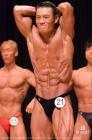 【2017東京クラス別 70kg級 予選FP】(21)梁永洙(42才/170cm/68kg/ボ歴:12年/ゴールドジムイースト東京)