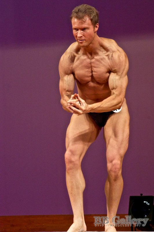 【75Kg超級】(45) Nigel Callahan(38才)