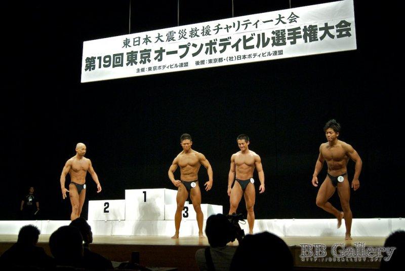 (8)長井弘和(42才)、(3)山澤圭介(21才)、(2)木村潤平(25才)、(1)田中裕介(28才)