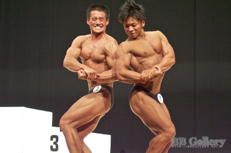 (2)木村潤平(25才)、(1)田中裕介(28才)