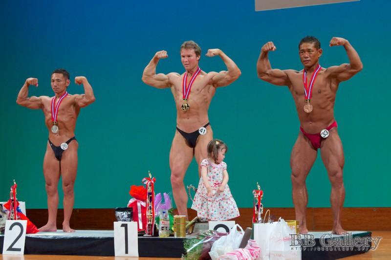 【ミスター千葉】(26)須金慶紀(42才)、(41)Nigel Callahan(39才)、(33)高橋幸男(36才)