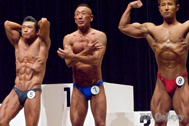 (5)手塚修(43才)、(7)福岡淳(51才)、(8)土金正巳(43才)