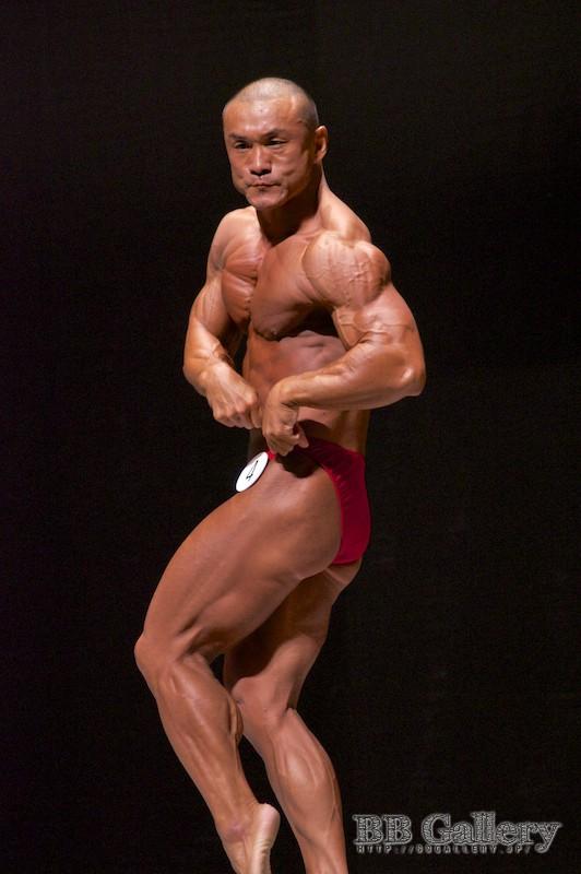 【2012東京クラス別70Kg級:FP】(4)前田耕二(42才/165cm/68kg/ボ歴:15年)