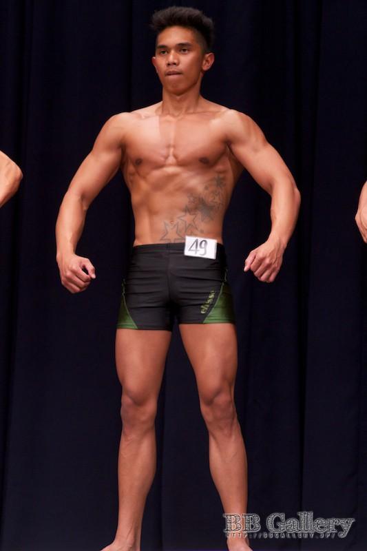【2013北区:男子ボディフィットネス】(49)窪松マークジョン(18才)