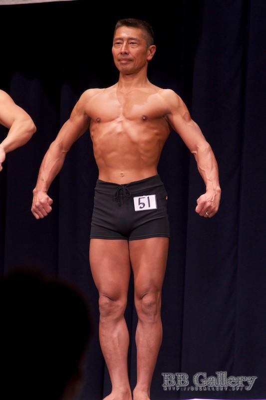 【2013北区:男子ボディフィットネス】(51)金子肇(51才)