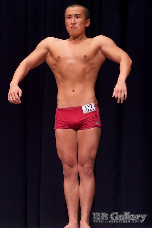 【2013北区:男子ボディフィットネス】(52)兼田幸彦(22才)