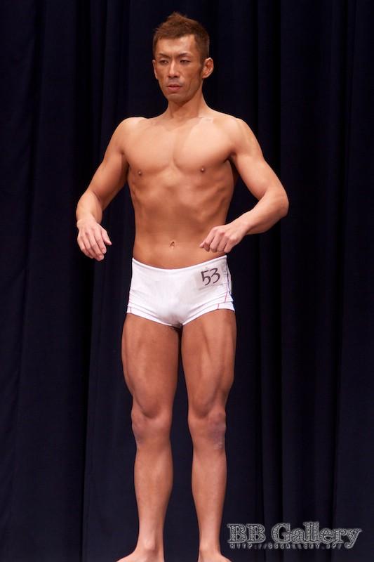 【2013北区:男子ボディフィットネス】(53)眞山建介(36才)