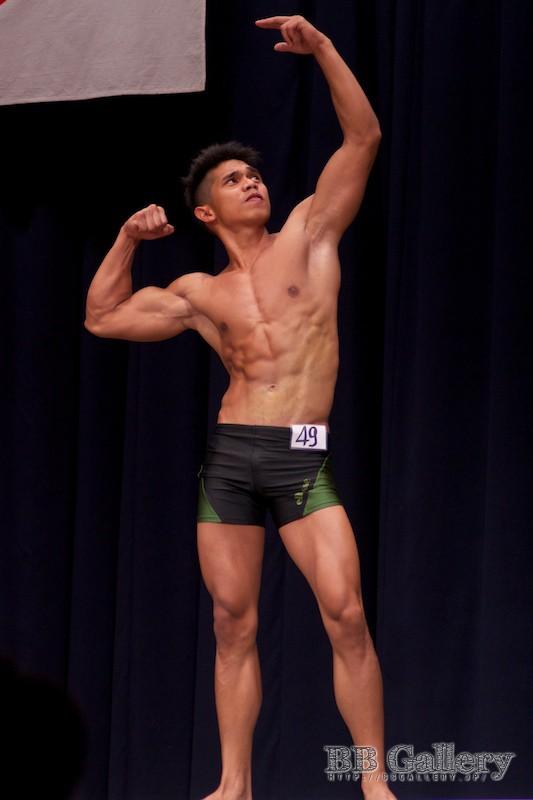【2013北区:男子ボディフィットネス】FP:(49)窪松マークジョン(18才)