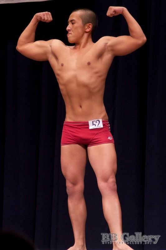 【2013北区:男子ボディフィットネス】FP:(52)兼田幸彦(22才)
