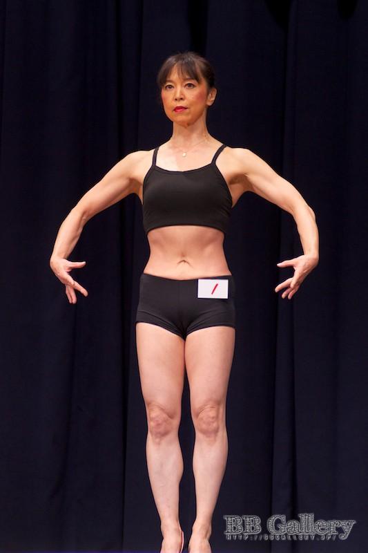 【2013北区:女子ボディフィットネス】(1)冨樫則子