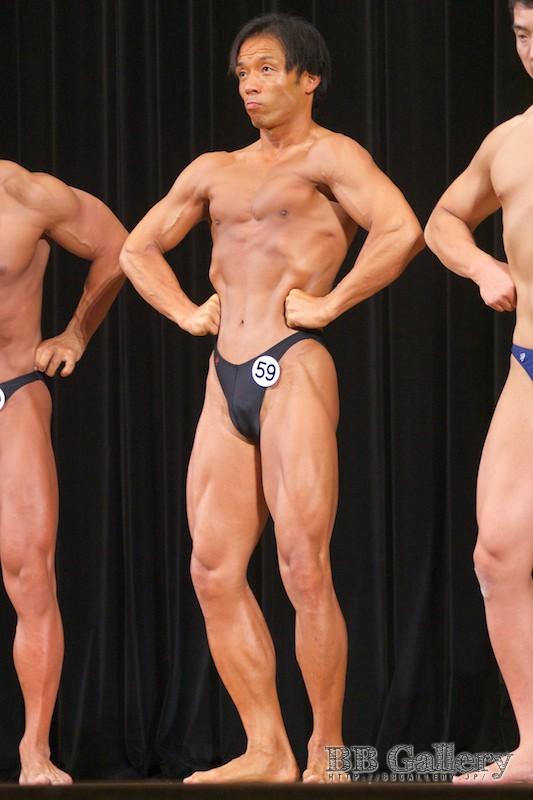 【2013埼玉:75kg超】(59)高橋冬樹(38才/183cm/ボ歴:20年5ヶ月)