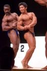 【2013東京オープン75Kg超級:表彰式-6】(6)オスカー ウバジャ ジュード(45才)、(3)斎藤裕樹(29才)