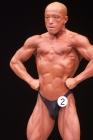 【2014東京オープン 75Kg級:FP】(2)雨谷浩一郎(39才/168cm/72kg/ボ歴:1年)