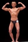 【2014東京オープン 40才以上級】(5)内田育雄(48才/175cm/70kg/ボ歴:3年)